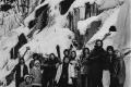 1977 - soustředění na Lipně u ledového vodopádu